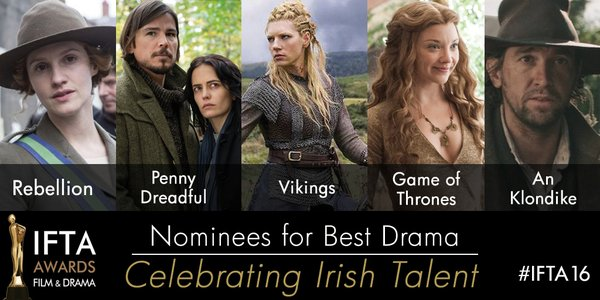 Nominees for Best Drama
